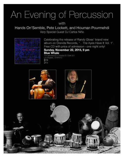 hands on'semble concert nov 22 2015