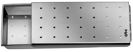 AE-BL911R, NEEDLE CASE PERFORATED 50 x 30 x 6 mm