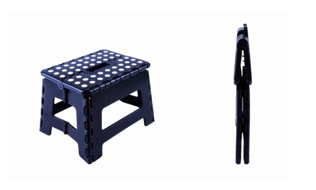 From $15 for Portable Folding Step Stool
