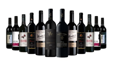 $79 for 12 Bottle Dark Brooding Shiraz Mixed including 2 bottles from 5 Star rated winery (Dont Pay $319)