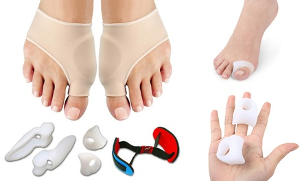 Bunion Support Kit: 7 Piece for ($14) or 9 Piece for ($15)