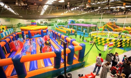 Two Hour Pass to Inflatable Arena for One ($10), Two ($20) or Four People ($40) at Xtreme Inflatables (Up to $56 Value)