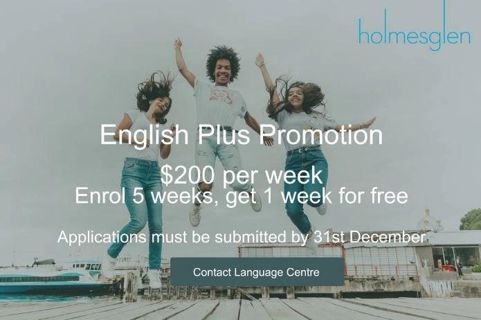 Holmesglen Promotion