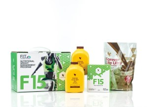 "Forever FIT ""F15"" Intermediate 1 & 2 Weight Loss Program (Chocolate)"