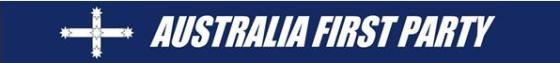 Australia First Party Banner1