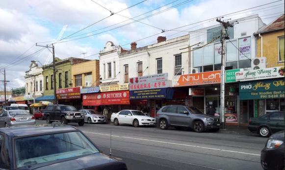 Victoria Street overrun by Vietnamese