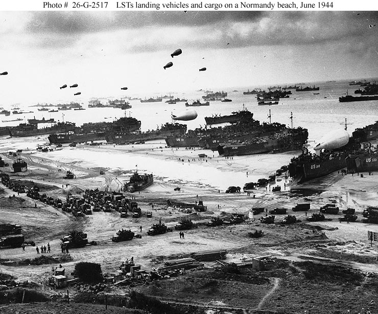 Normandy Invasion June 6, 1944