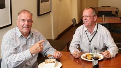 Bob Such and Geoff Brock