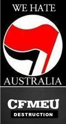 CFMEU in bed with Antifa