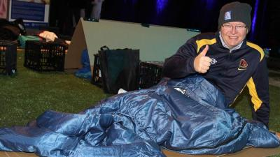 Rudd Homeless Sleep Out