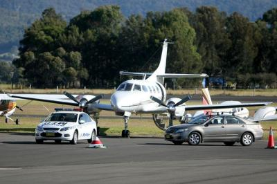 Private jet arrives in Australia undetected