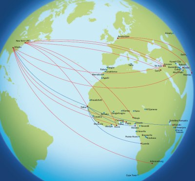 Delta Airlines Flights from West Africa