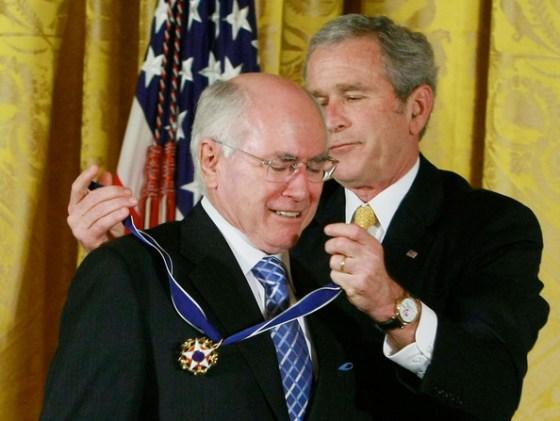 John Howard's medal of the willing