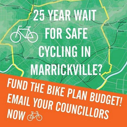 Marrickville Greens Cycleway for King Street