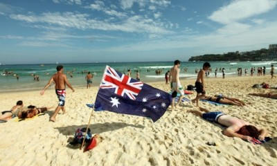 Australia Day Bondi Beach