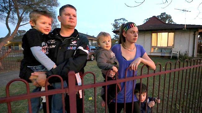 Australian Families Struggling