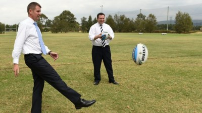 Liberal Party Political Football in Penrith