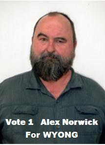Alex Norwick for Wyong