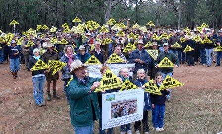 No Mines on Our Liverpool Plains