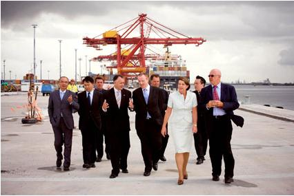 Labor Privatisation of Port of Brisbane to Hutchison Whampoa in 2008