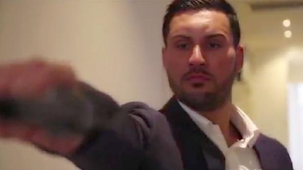Samil Mehajer violent