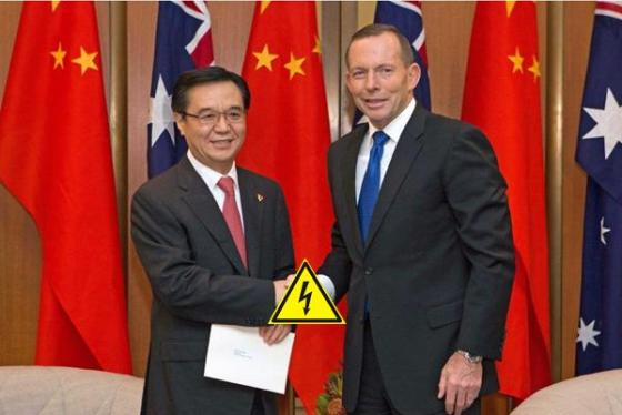 Abbott's China Australia Free Trade Agreement