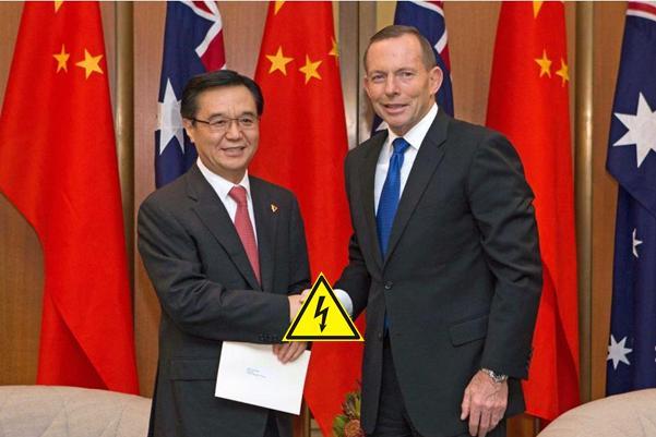 Abbott's China Australia Free Trade Agreement
