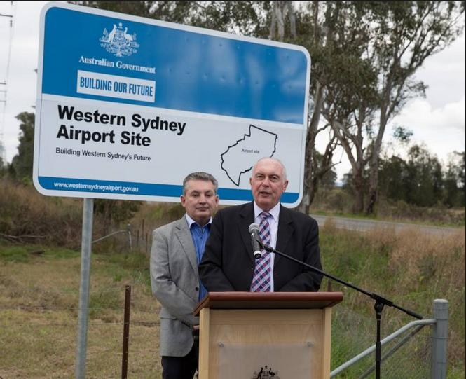 Warren Truss selfish Badgerys Creek Airport