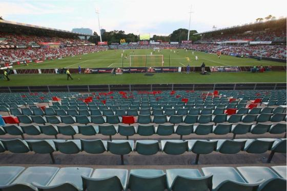 A-League empty of violence