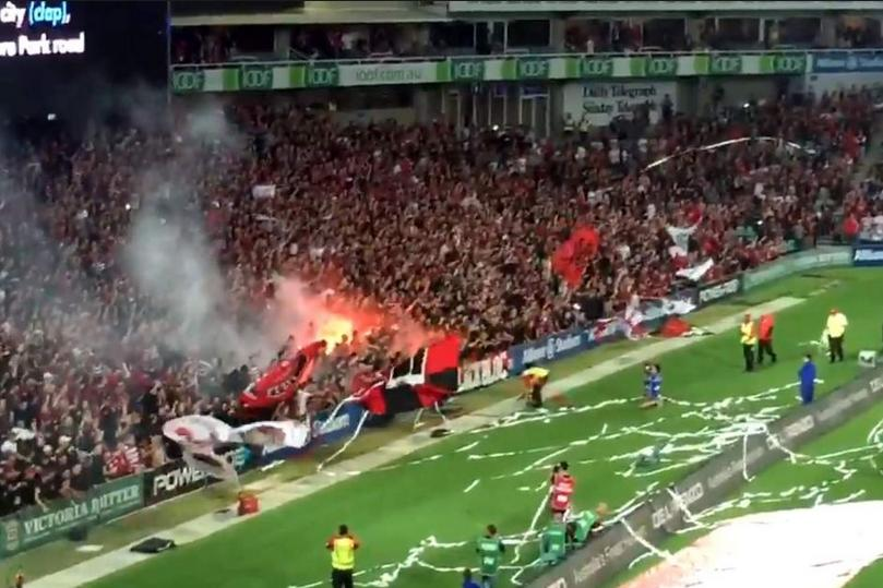 A-League spectator violence in Sydney