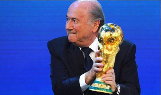 FIFA Sepp Blatter greed at 80