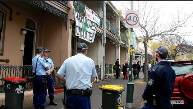 Liberal Party Millers Street Clearances for Packer's Chinese