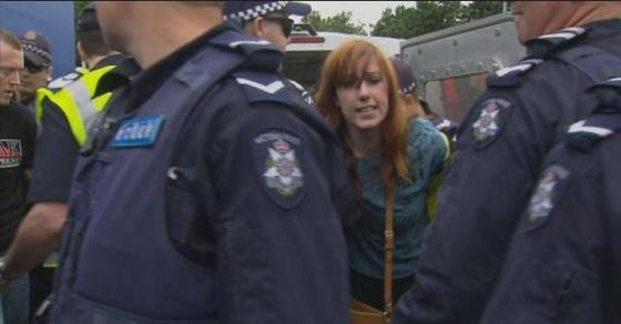 Mel Gregson arrested again