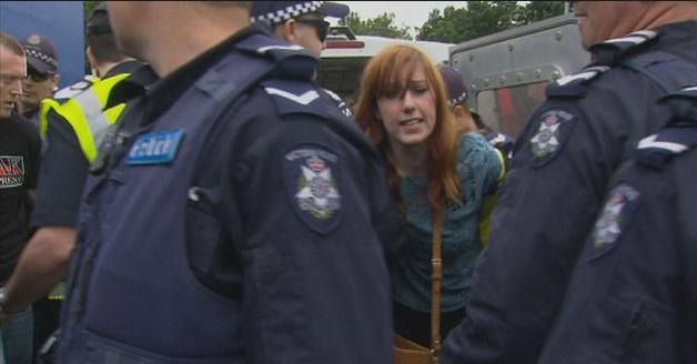 Mel Gregson arrested again