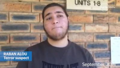 Raban Alou terror suspect