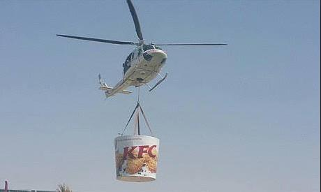 Bronwyn Bishop KFC Home Delivery