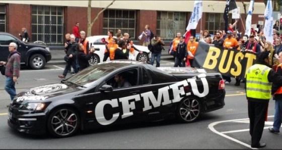 CFMEU dues stolen