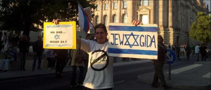 PEGIDA is Zionist