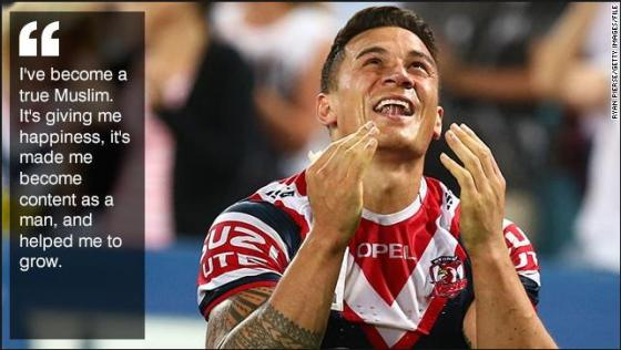 Samoan Sonny Bill Williams
