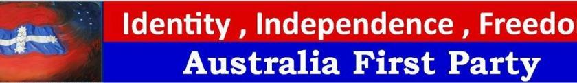 Australia First Party Header