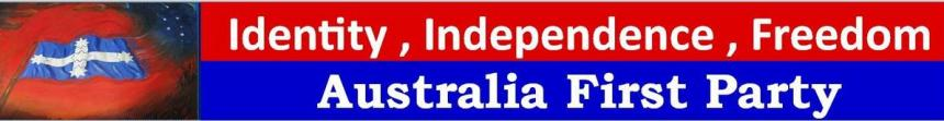 Australia First Party Header