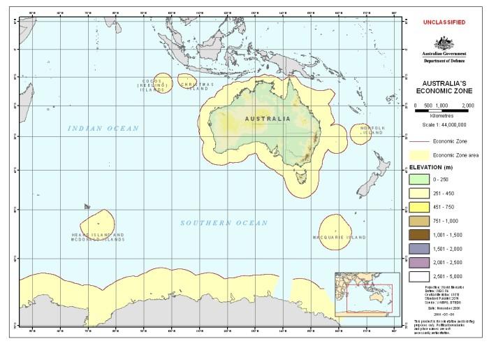 Australia's Economic Zone
