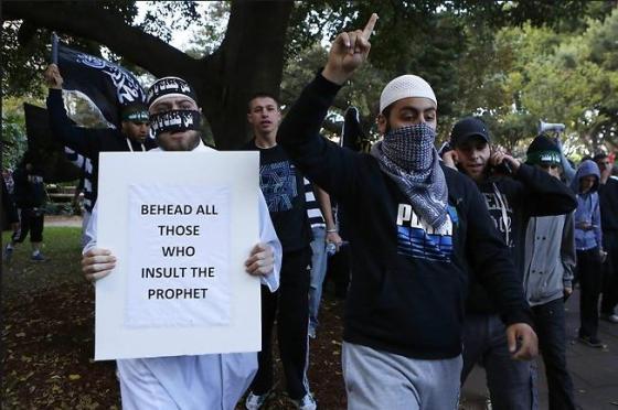 Islamic Terror invited into Australia