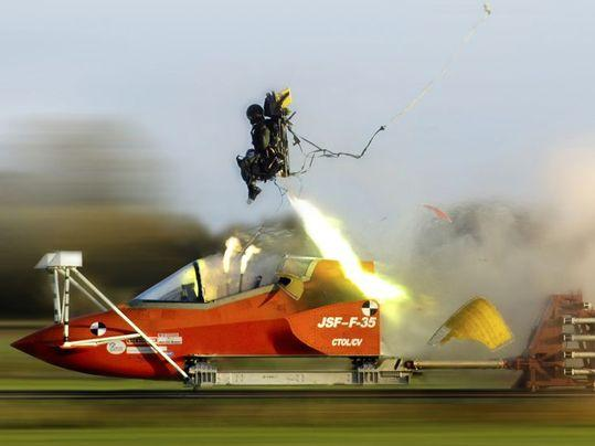 F-35 ejector seat testing
