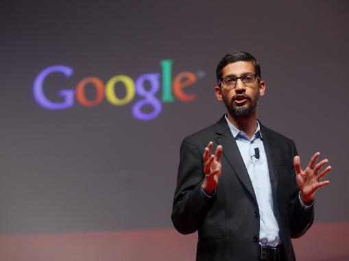 Google CEO Sundar Pichai on $200m a year