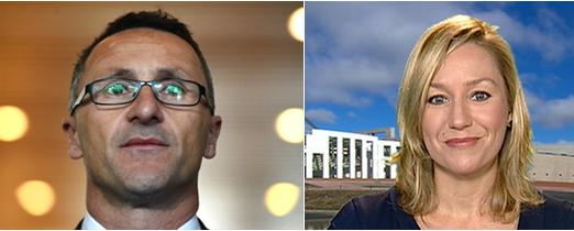Greens Di Natale and Waters on drugs