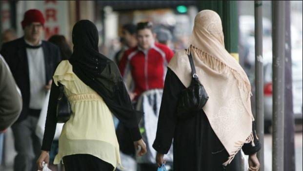 Muslims on the street