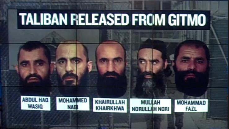 Obama Taliban released from Gitmo