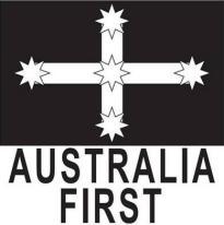 Australia First Election Logo