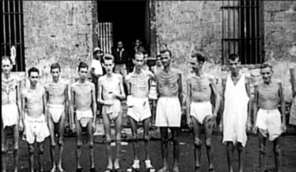 Australian prisoners selected for Sandakan Death Marches